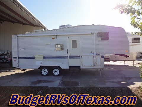 hqdefault?sqp= oaymwEWCKgBEF5IWvKriqkDCQgBFQAAiEIYAQ==&rs=AOn4CLBQps40mLy68FZa1mPD2CSsYrt2mA 1994 travel trailer fleetwood terry, 27 foot 5th wheel travel  at creativeand.co