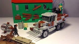 Лего Машина для Зомби-Апокалипсиса