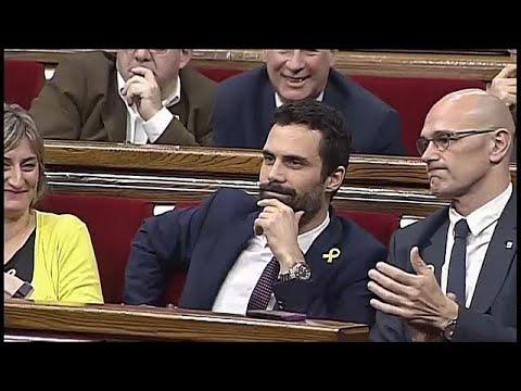 Parlamento da Catalunha elege Roger Torrent como presidente