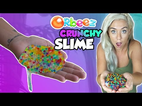 Thumbnail: ORBEEZ CRUNCHY SLIME! THE CRUNCHIEST SLIME ON YOUTUBE | ASMR Slime