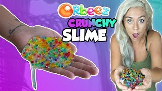 ORBEEZ CRUNCHY SLIME! THE CRUNCHIEST SLIME ON YOUTUBE | ASMR Slime thumbnail
