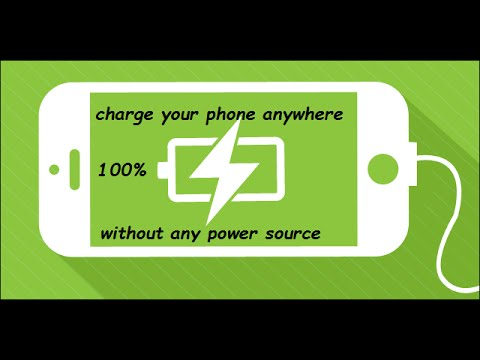 How to Charge Any Phone Without Any Power Source| TechSayyer
