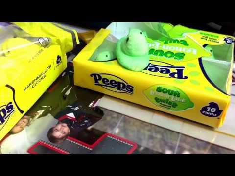 Peeps vs sour lemon lime twist