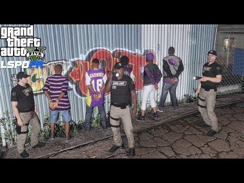 GTA 5 LSPDFR 0.4 Gang Unit Patrol - GTA 5 Real Life Police Mod #704