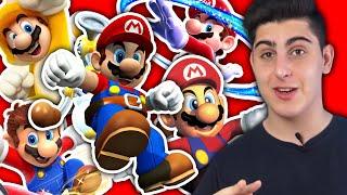 3D Marios und ihre Schwächen