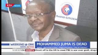 Veteran Broadcaster Mohamed Juma dies in Nairobi