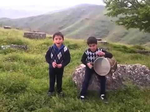 Армянские дети поют про Арарат! Арарат - мер лерна