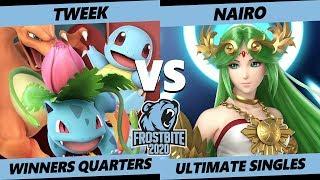 Frostbite 2020 SSBU Winners Quarters - TSM   Tweek (Trainer) Vs NRG   Nairo (Palutena) Smash Singles
