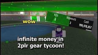 Roblox [2PLR Gear Tycoon] exploit infinite money! FD