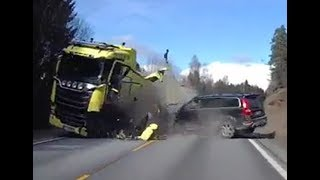Volvo XC70-Volvo's excellent safety proved in the crash