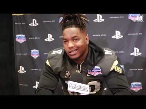 Fiesta Bowl - LSU and UCF Player Interviews from Media Day