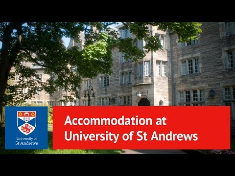 Choose your accommodation at St Andrews