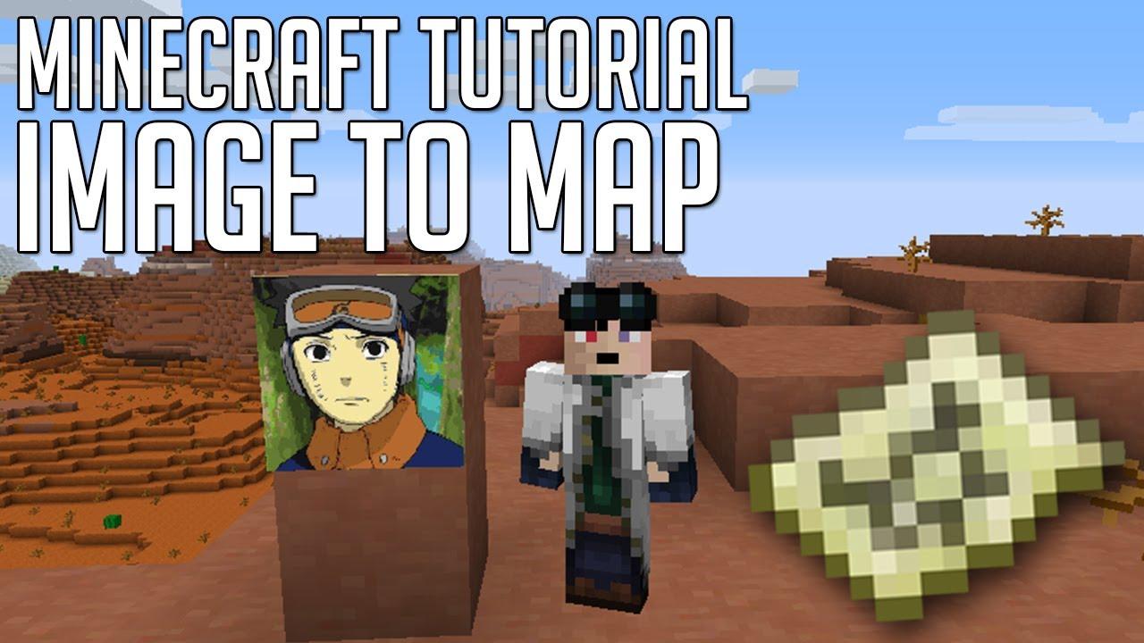 Minecraft Tutorial : Cum sa pui o poza in Minecraft