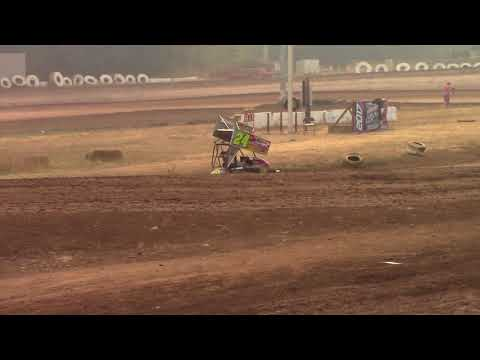 Cottage Grove Speedway, OR - King of the West - 125cc Cage-Kart A Main Event - Sept. 3, 2017