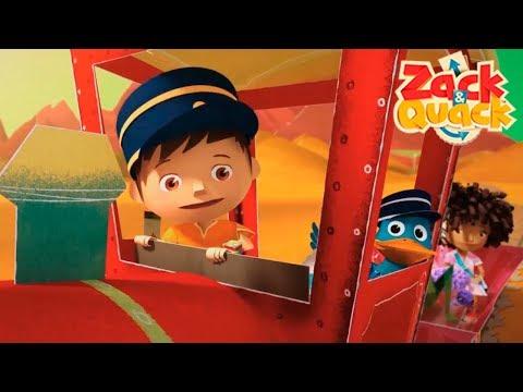 Pop Up Express 🚂 - Zack & Quack  EPISODE  ZeeKay Junior