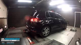 Reprogrammation Moteur VW Golf 6 2.0 TDI CR 110hp @ 188hp par BR-Performance