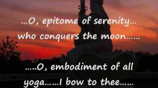Hymn with English subtitles - Sree Saraswati Stotram  written by Sage Agastya - Goddess of Learning
