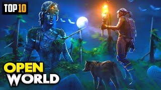 TOP 10 OPEN WORLD Games For Android 2021 | High Graphics (Online/Offline)