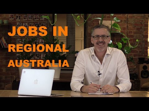 Jobs in Regional Australia