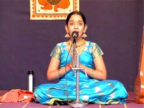 S. Adithe Performs Her  Carnatic Sangeet Arangetram - PART 1