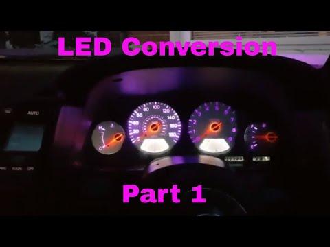 300zx Dash LED Conversion Part 1