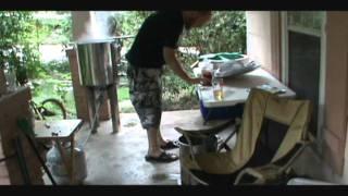 Brewing Butternut Squash Ale Part 2 by RatchetBrews.com