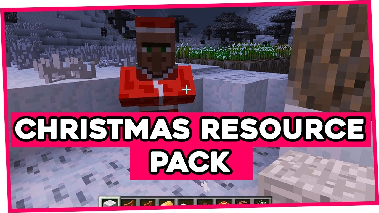Christmas Resource Pack for Minecraft 1.11 | Christmas Texture Pack - YouTube