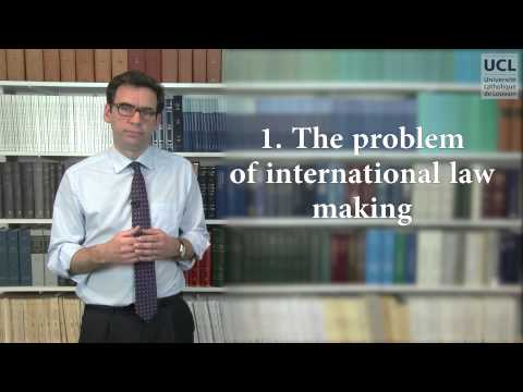19 The formal sources of International Law