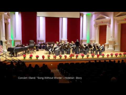 2015-16 Lassiter High School Band Fall Concert