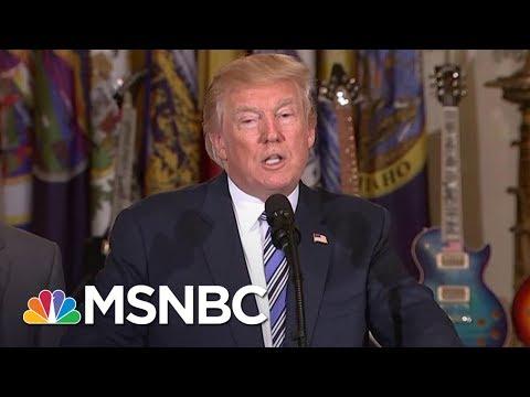 President Donald Trump: Last Night