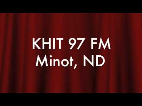 KHIT 97 FM 1984 R. David Adams Mike Morkin Minot North Dakota