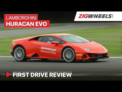 Lamborghini Huracan EVO India | Track Drive Review | ZigWheels.com
