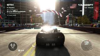 GRID 2 PC Multiplayer Endurance Gameplay: Tier 3 Upgraded Chevrolet Corvette Z06, Chicago Liveroutes