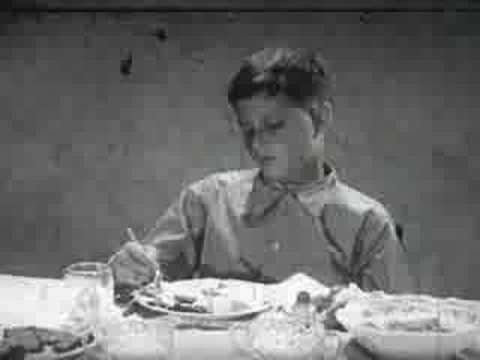 American Propaganda Films - Good Eating Habits (1951)
