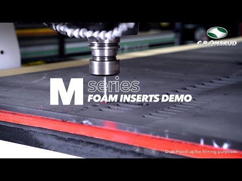 CNC Router Foam Insert Machining | The M-Series by C.R. Onsrud