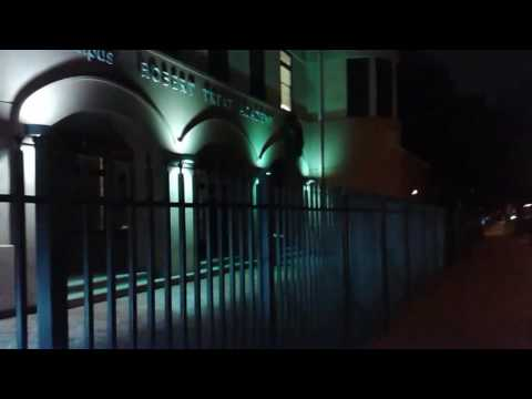 Walking in the North Ward section of Newark, New Jersey (in the NIGHT time)