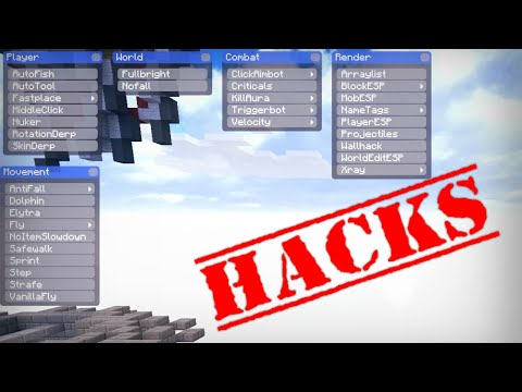 Me convierto en HACKER | Probando HACKS en Skywars [+Descarga]