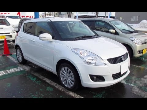 2012 SUZUKI SWIFT - Exterior & Interior
