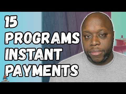 Affiliate Programs That Pay Instantly 2021 - 15 programs for instant payment
