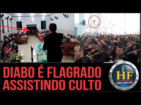 Diabo aparece durante culto em duas igrejas