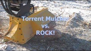 EX30RPM Torrent Mulcher vs  ROCK - Watch SPARKS FLY!