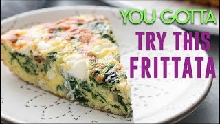 DELICIOUS LOW CARB KETO FRITTATA!!!