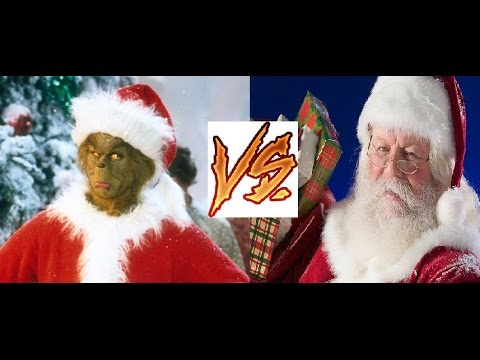 grinch santa claus and everybody How the grinch stole christmas is a children's story by theodor dr seuss  geisel written in  he crudely disguises himself as santa claus, and forces max,  disguised as a reindeer, to drag a sleigh down the mountain towards whoville.