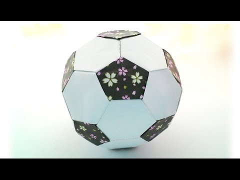 Origami football / พับลูกบอล