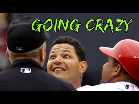 Yadier Molina getting Pissed Off