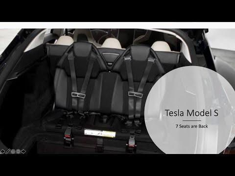 Elon Musk, Tesla Model S 7 Seater is Back