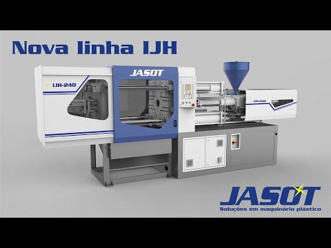 Linha IJH - série de injetoras hidráulicas Jasot