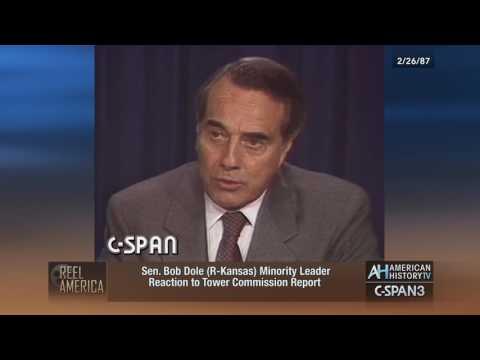 Sens. Dole & Glenn React to Tower Report & Iran-Contra - 2/26/1987