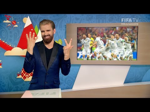 FIFA WC 2018 - ESP vs. RUS – for Deaf and Hard of Hearing - International Sign