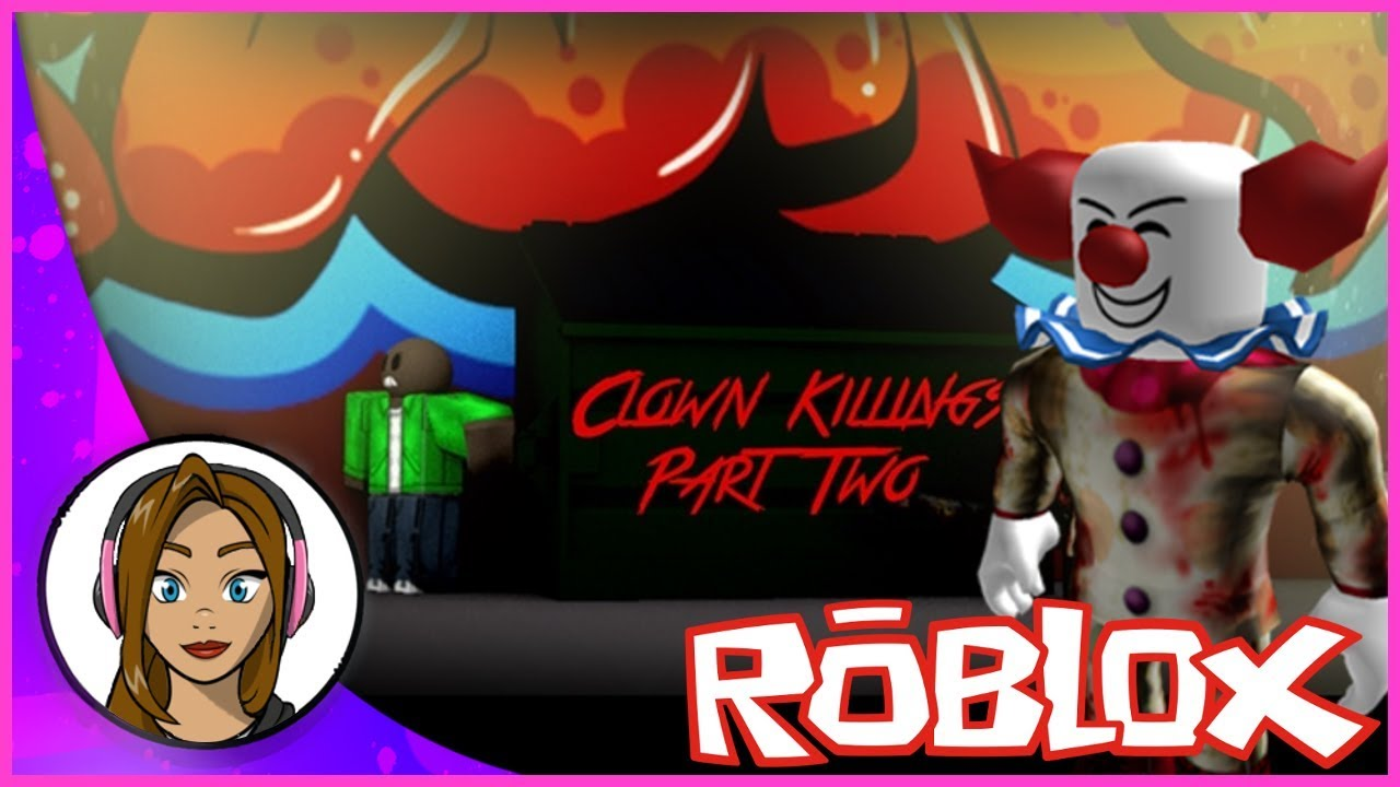 OMG ITS PENNYWISE! The Clown Killings Part 2 | Roblox Gameplay
